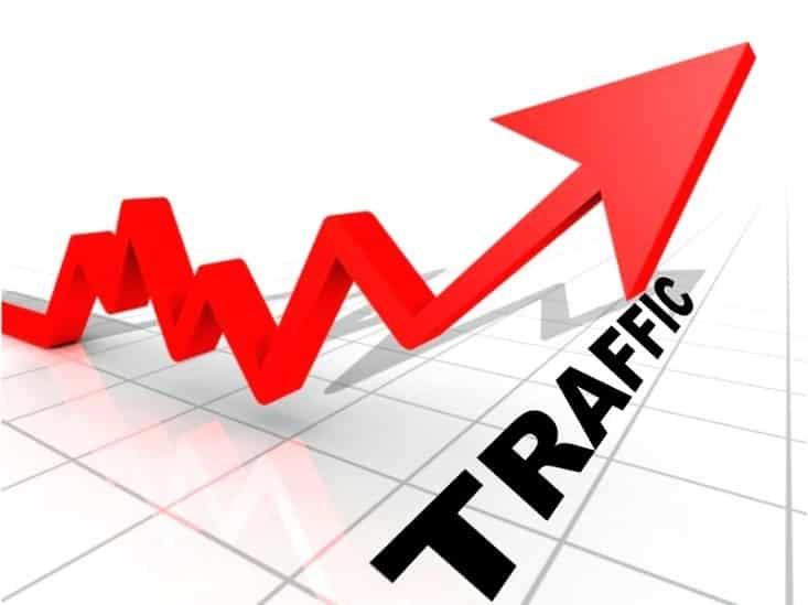 افزایش ترافیک ورودی به سایت